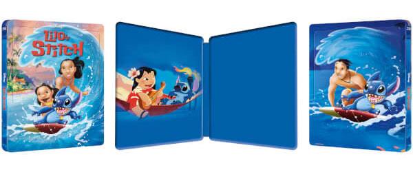 [Débats / BD] Les Blu-ray Disney en Steelbook Lilo-Stitch-steelbook-zavvi-2