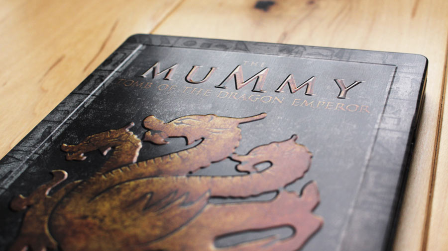 Mummy Dragon steelbook