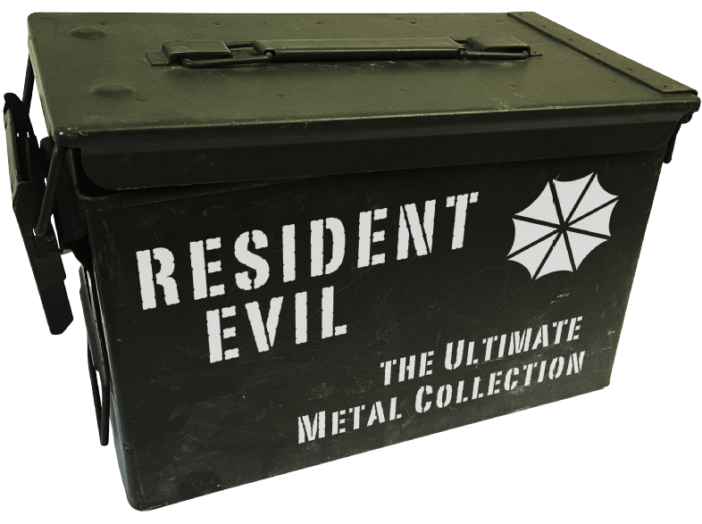 Resident-Evil-–-Ultimate-Metal-Collection-(Exklusiv-bei-Media-Markt---Limitiert-auf-250-Exemplare)-[Blu-ray]