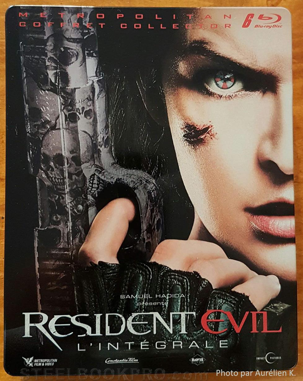 Resident-Evil-Intégrale-steelbook fr 1