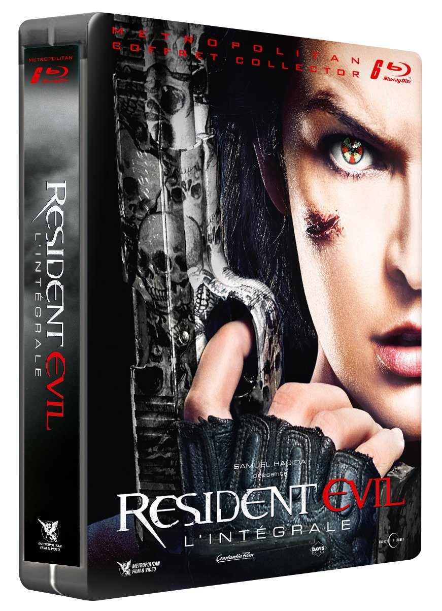 Resident Evil Integrale steelbook FR