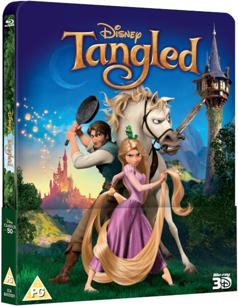 [Débats / BD] Les Blu-ray Disney en Steelbook Tangled-steelbook-zavvi-1
