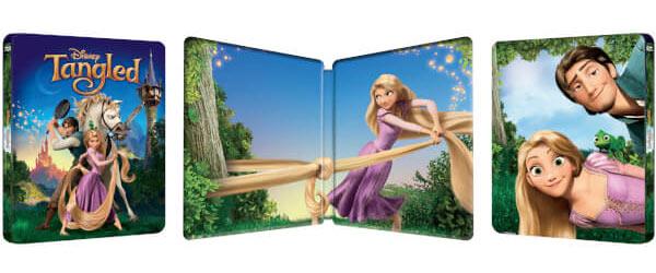 [Débats / BD] Les Blu-ray Disney en Steelbook Tangled-steelbook-zavvi-2