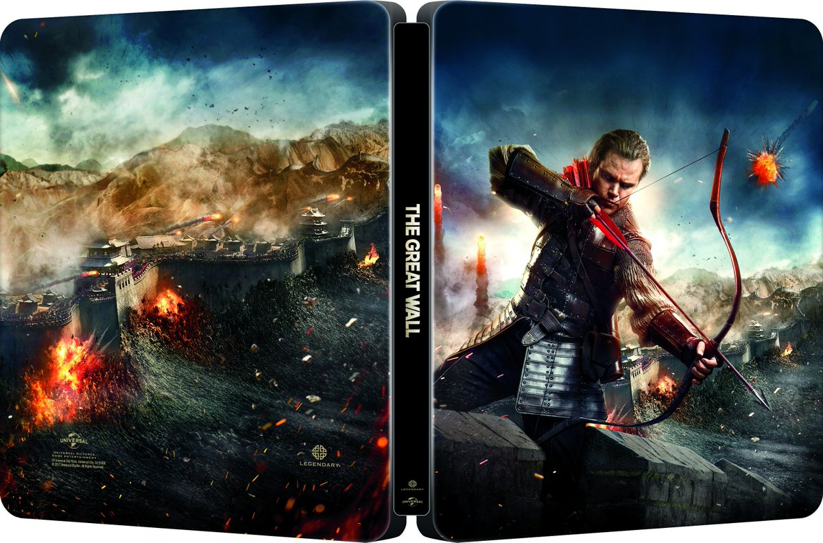 The Great Wall steelbook 1