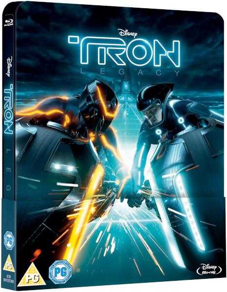 [Débats / BD] Les Blu-ray Disney en Steelbook Tron-Legacy-steelbook-zavvi-1