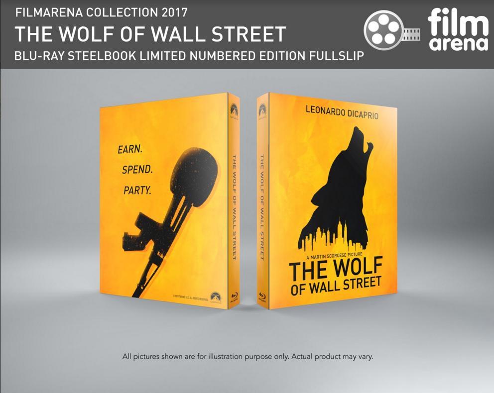 wallstreet wolf steelbook