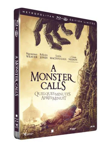 A Monster Calls steelbook fnac