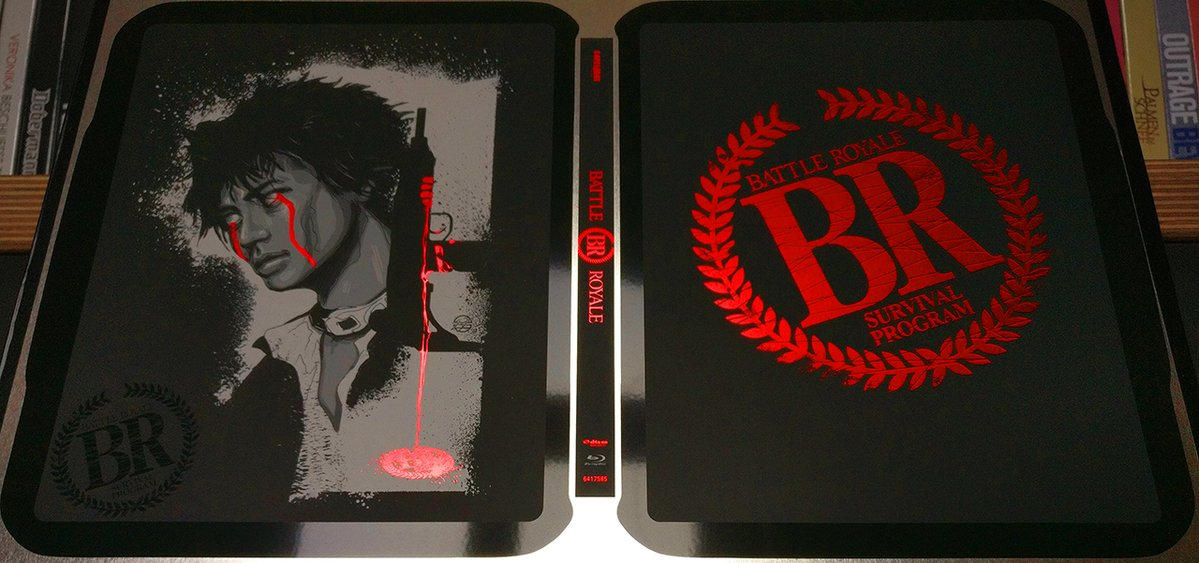 Battle Royale steelbook DE1