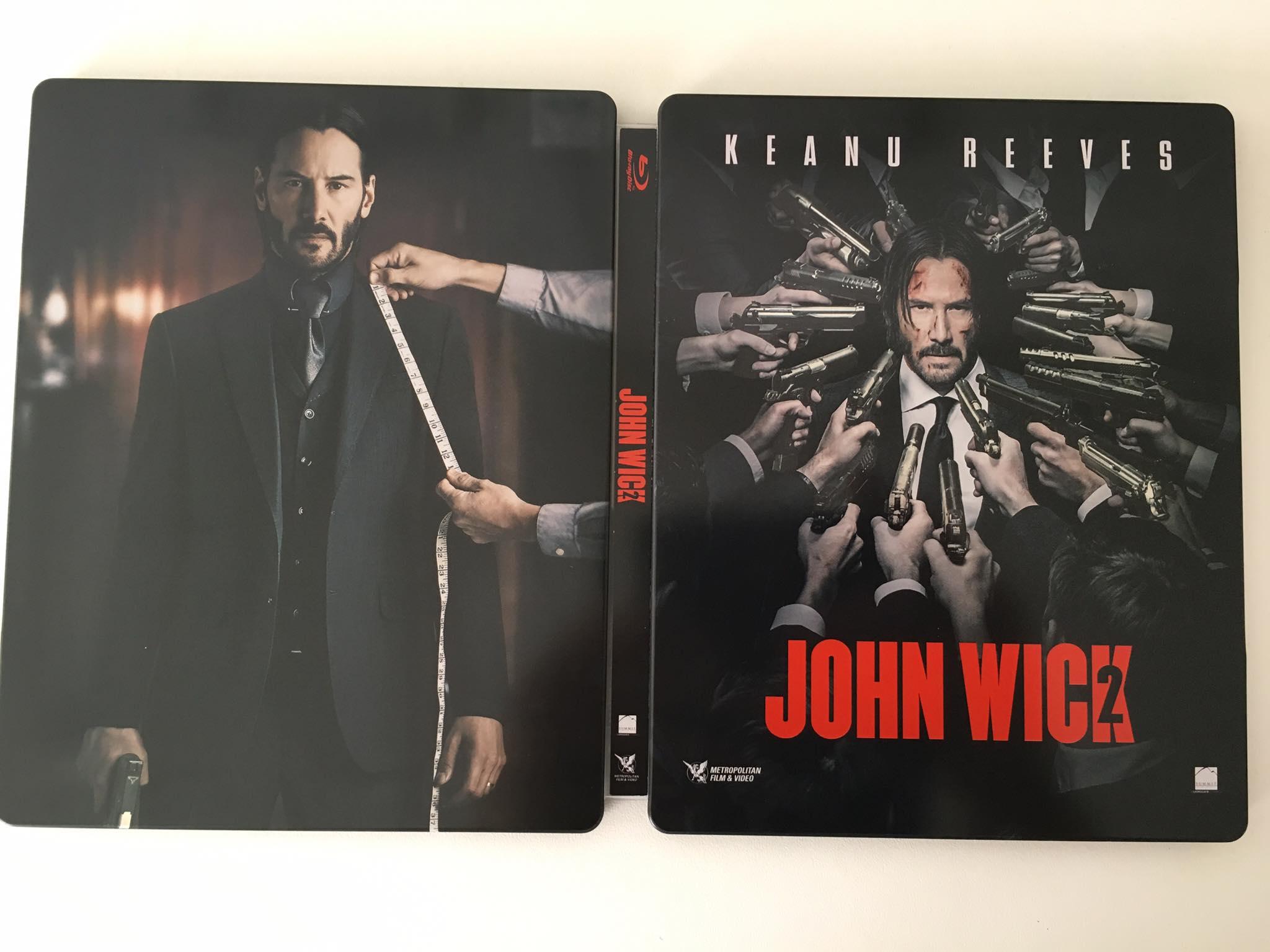 John Wick 2 steelbook 2
