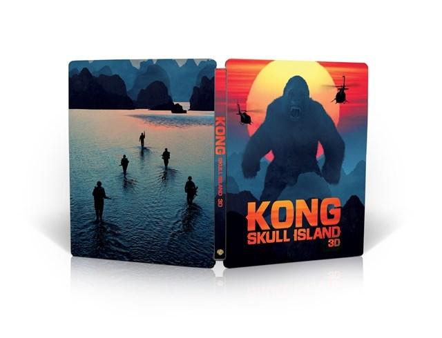 Kong Skull Island steelbook HMV