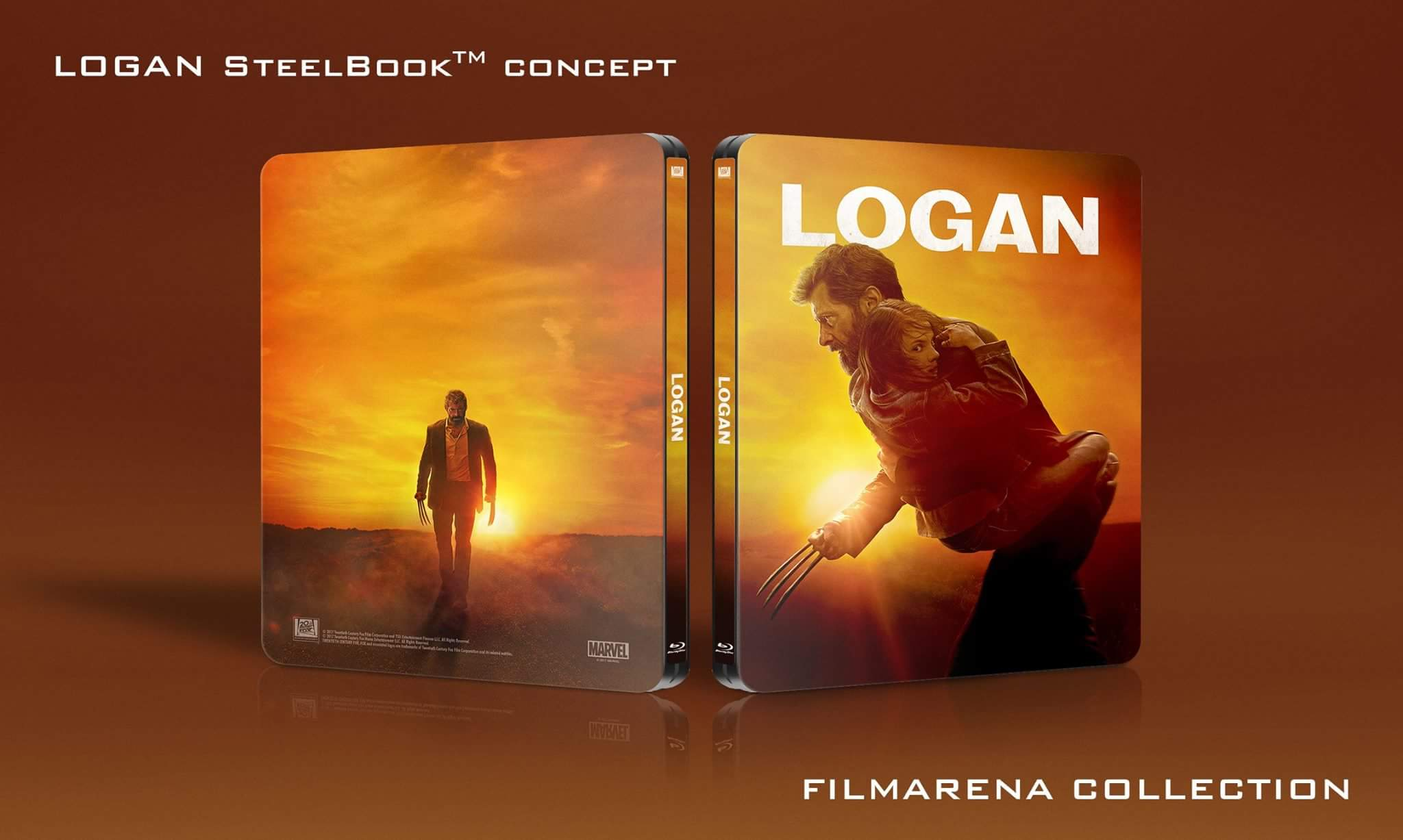 logan un steelbook exclusif filmerana maj aper u steelbookpro l 39 actualit mondiale des. Black Bedroom Furniture Sets. Home Design Ideas