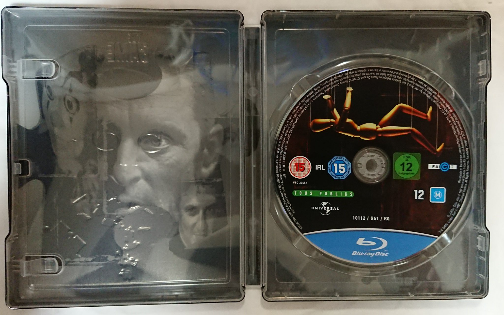 The Game steelbook 6