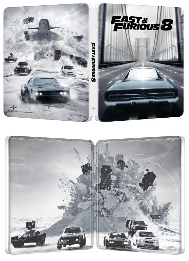 fast furious 8 en steelbook maj aper u steelbookpro l 39 actualit mondiale des boitiers. Black Bedroom Furniture Sets. Home Design Ideas