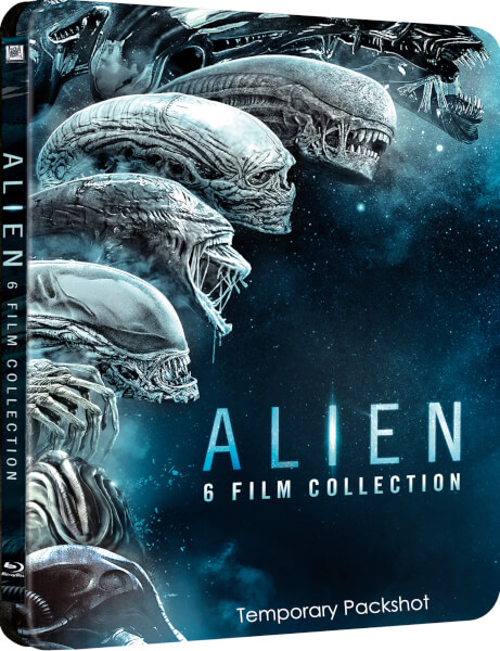 Alien 6 Movie Collection steelbook