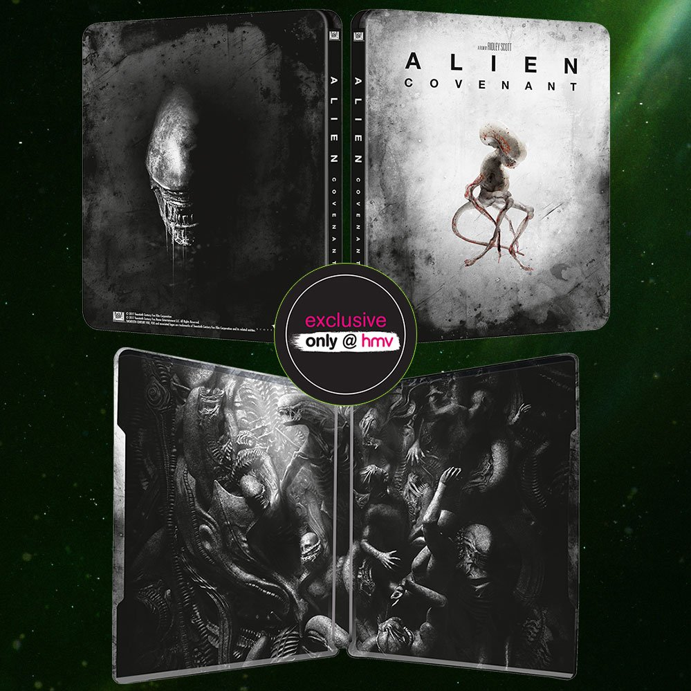 Alien Covenant steelbook HMV 2