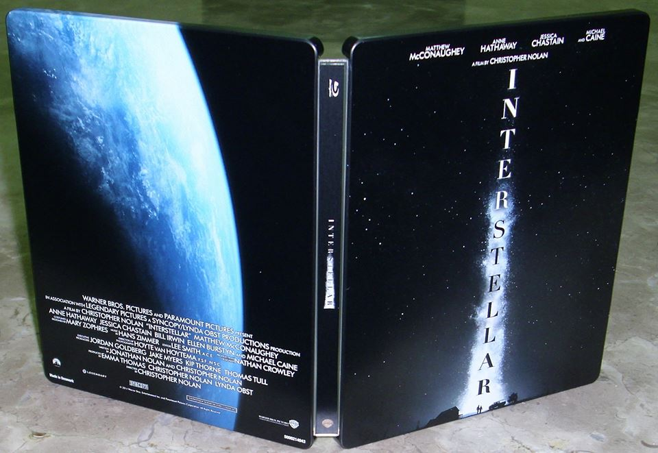 Interstellar steelbook coréen