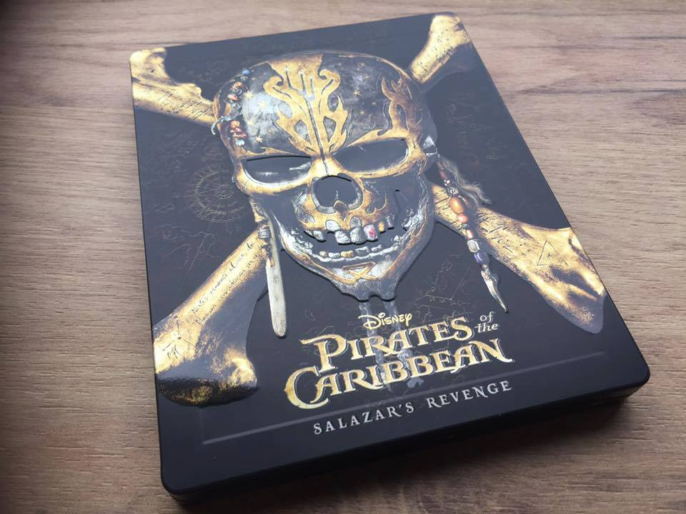 Pirates of the Caribbean Salazar Revenge steelbook 1