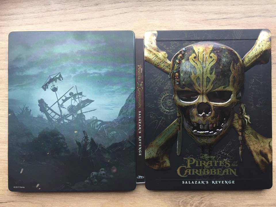 Pirates of the Caribbean Salazar Revenge steelbook 5