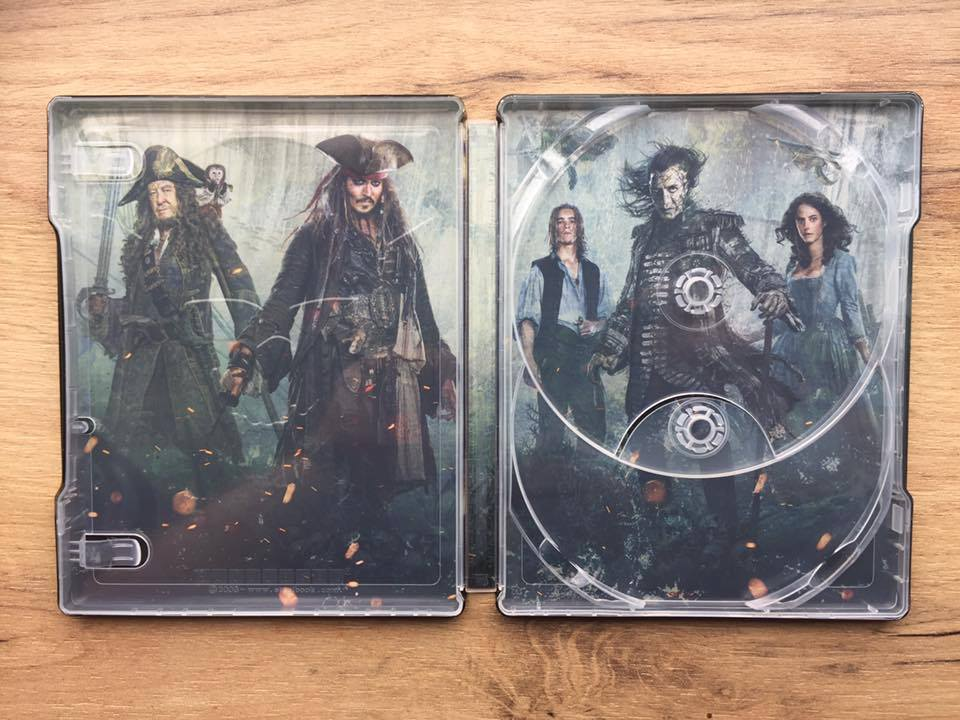 Pirates of the Caribbean Salazar Revenge steelbook 8