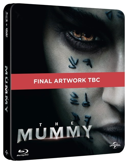 The Mummy steelbook HMV