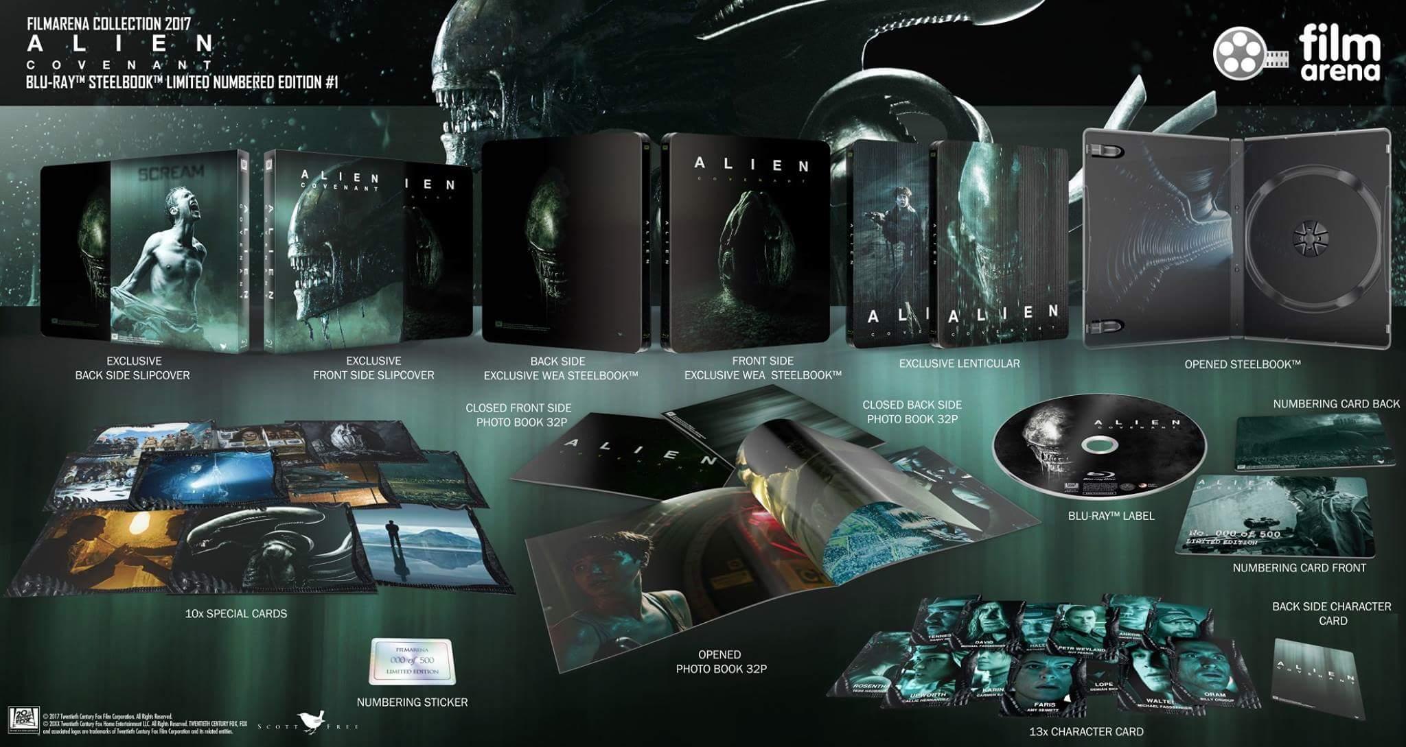 Alien Covenant steelbook filmarena 1