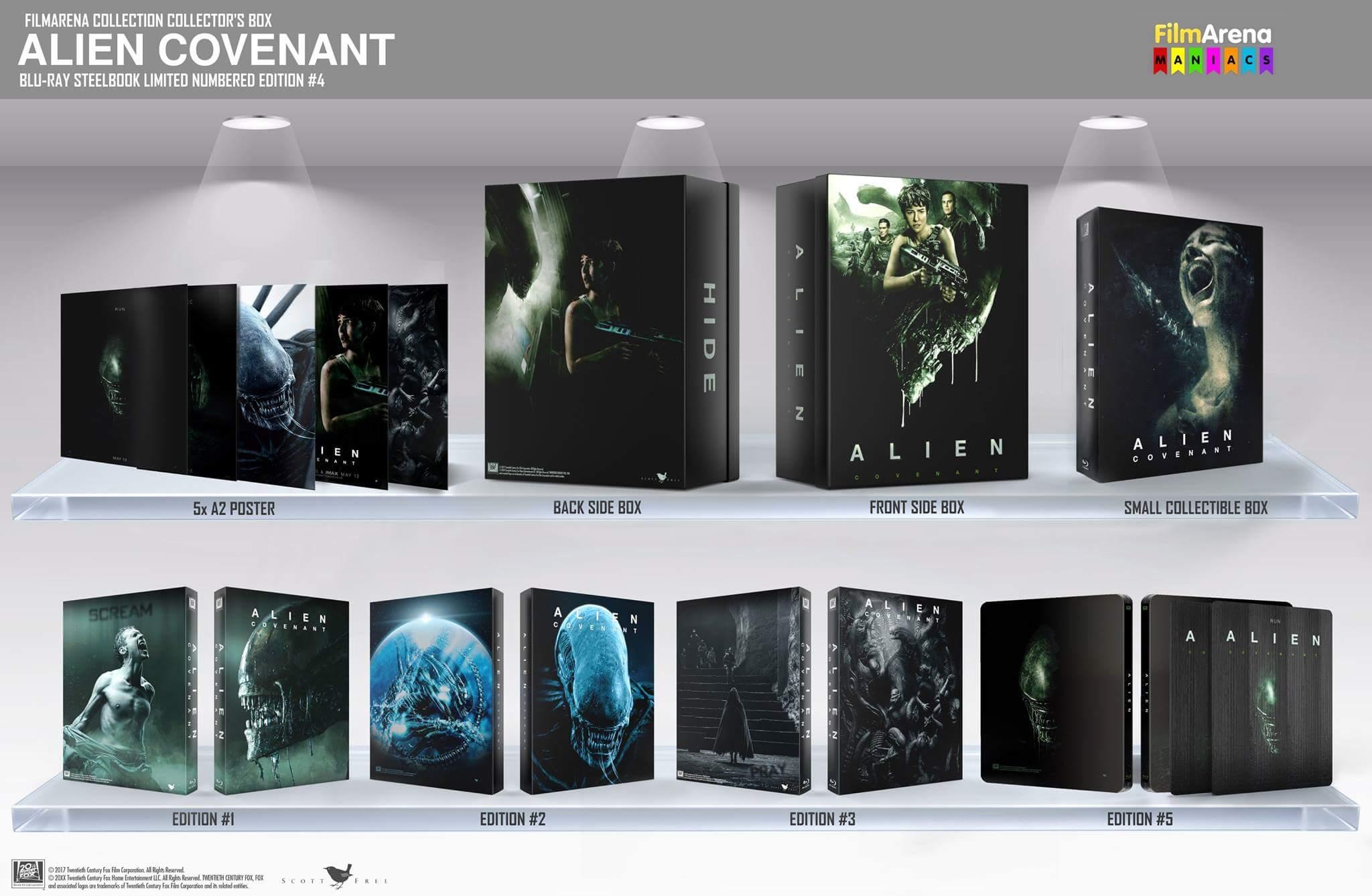 Alien Covenant steelbook filmarena 4