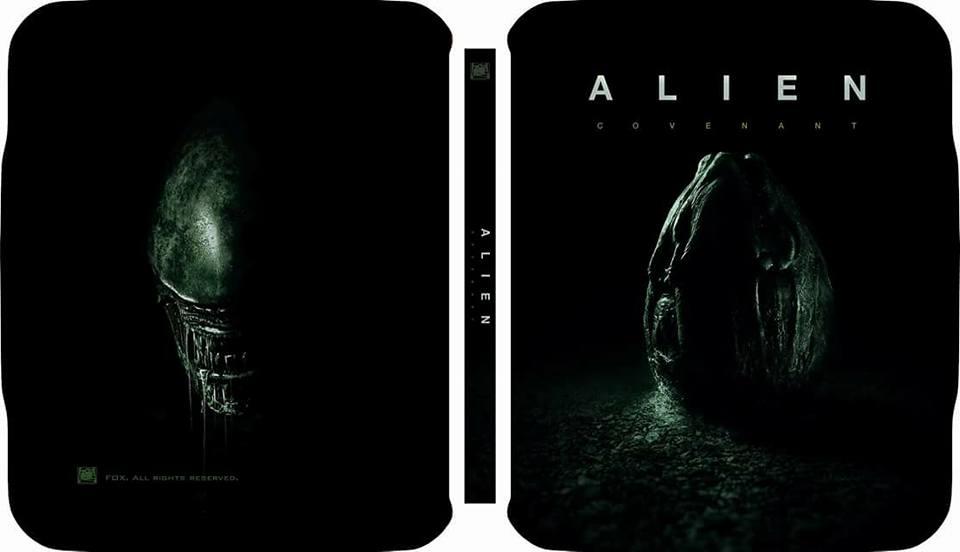 Alien Covenant steelbook filmarena