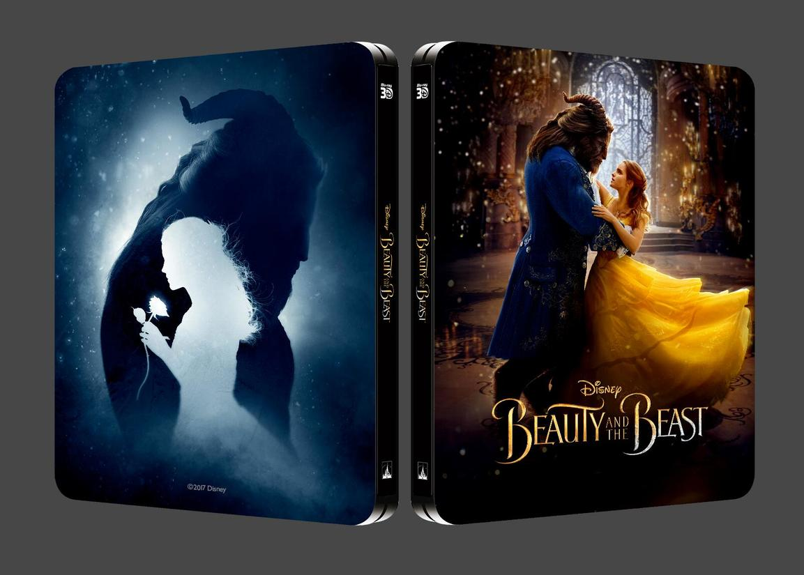 Beauty And The Beast 2017 3d 2d Blu Ray Steelbook