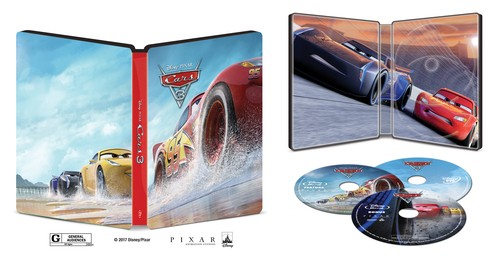 cars 3 un steelbook bestbuy steelbookpro l 39 actualit mondiale des boitiers steelbooks. Black Bedroom Furniture Sets. Home Design Ideas