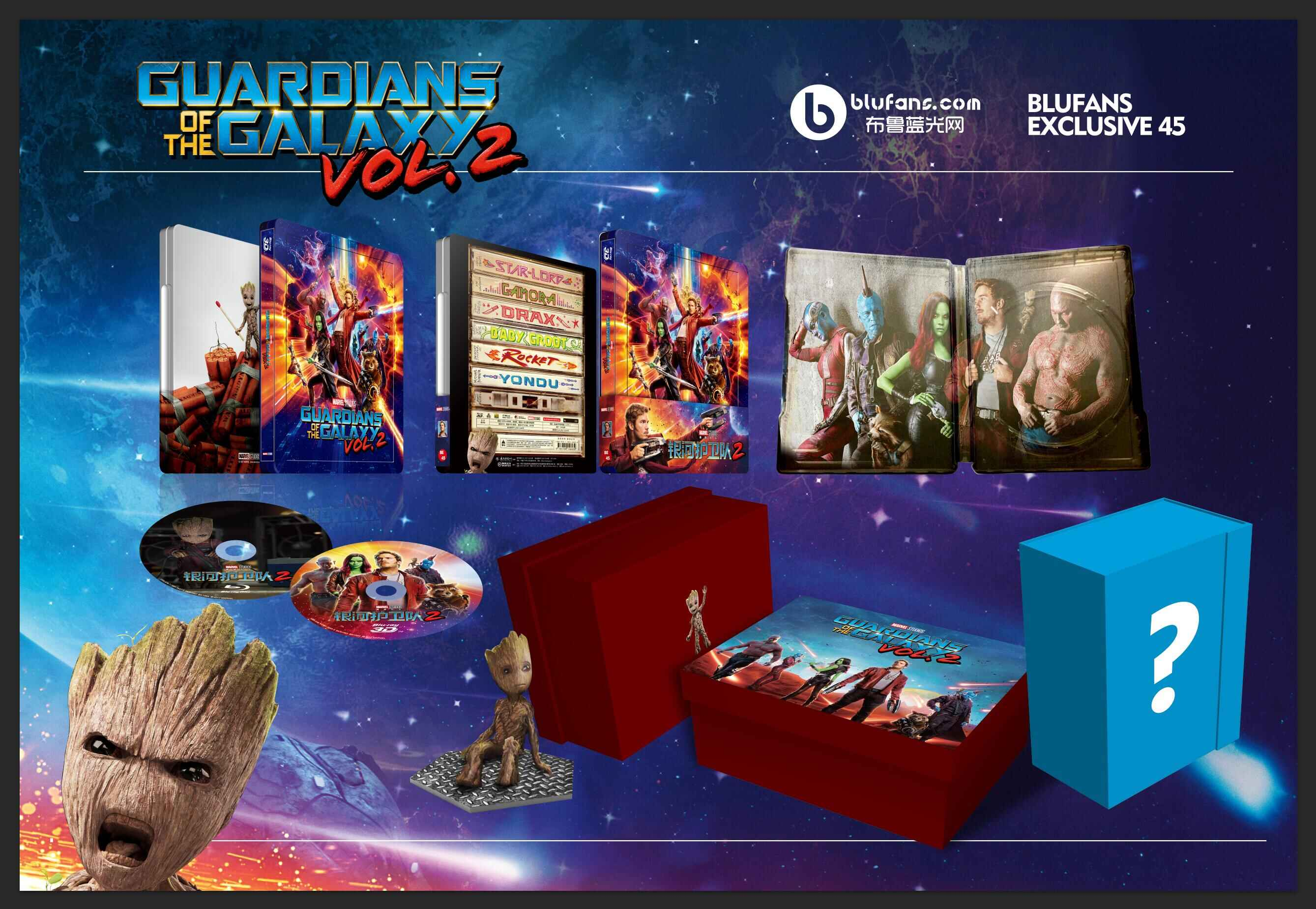Guardians of the Galaxy Vol.2 steelbook blufans 7