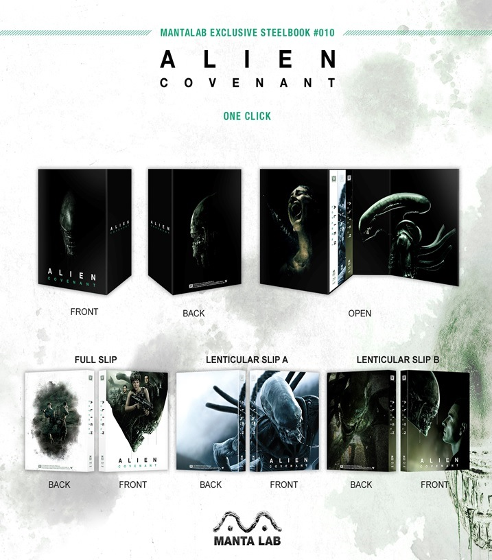 Alien Covenant steelbook manta lab 4