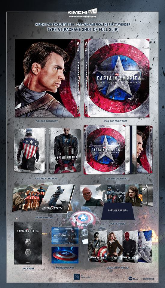 Captain America The First Avenger steelbook kimchiDVD 1