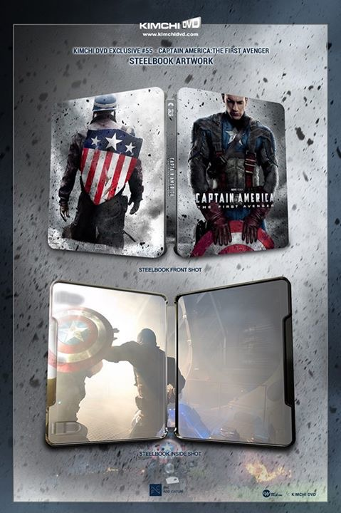 Captain America The First Avenger steelbook kimchidvd