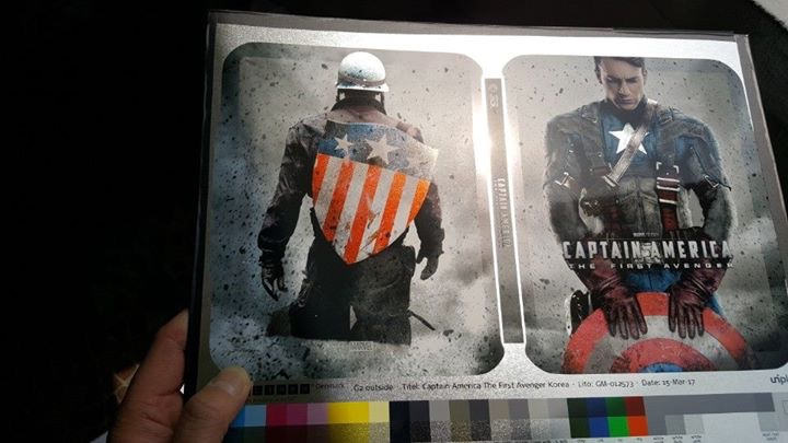 Captain America The First Avenger steelbook kimchidvd2