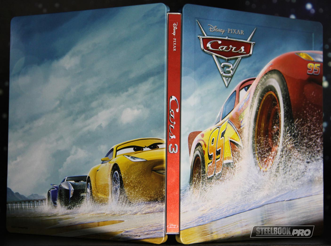 cars 3 3d 2d blu ray steelbook zavvi exclusive uk page 5 hi def ninja pop culture. Black Bedroom Furniture Sets. Home Design Ideas
