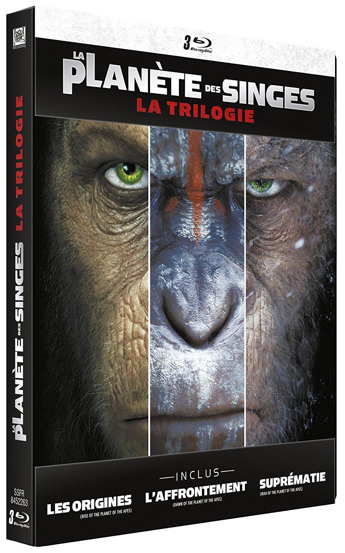 Planete singes trilogie steelbook fr