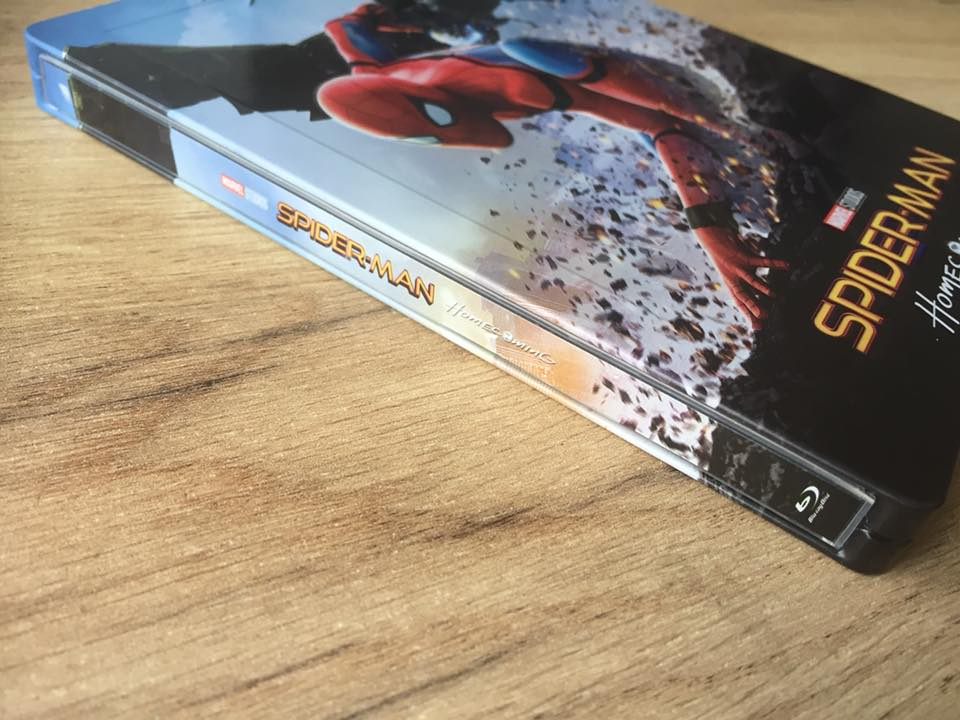 Spider-man Homecoming steelbook filmarena 12