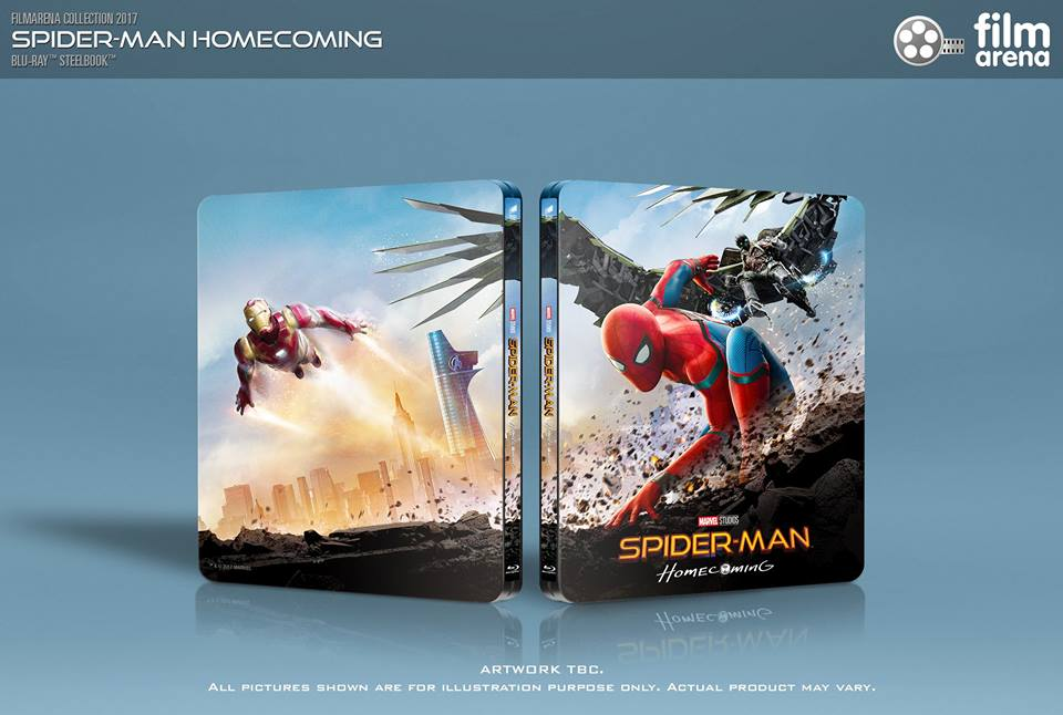 Spider-man Homecoming steelbook filmarena