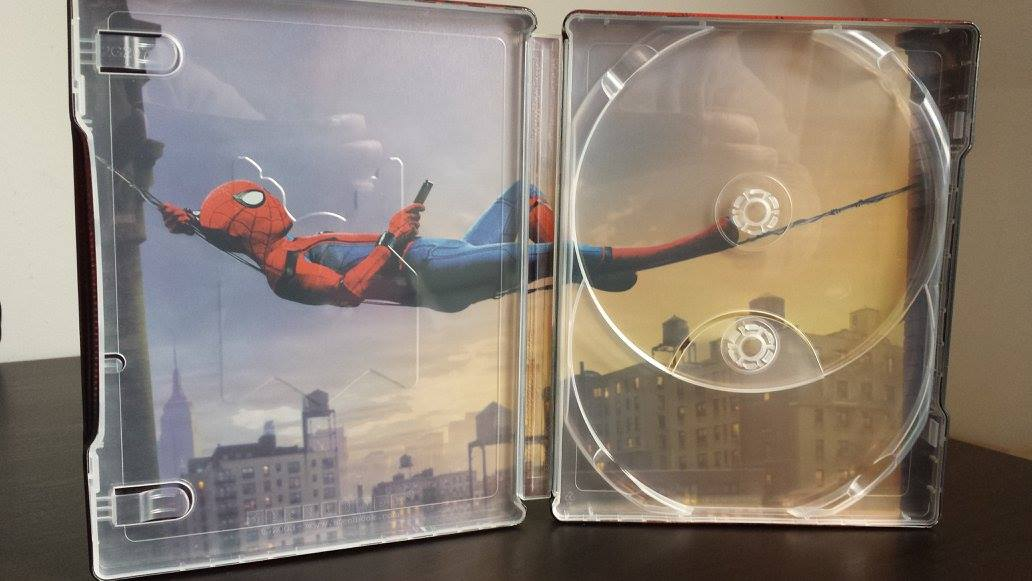 Spider-man Homecoming steelbook magnet 5