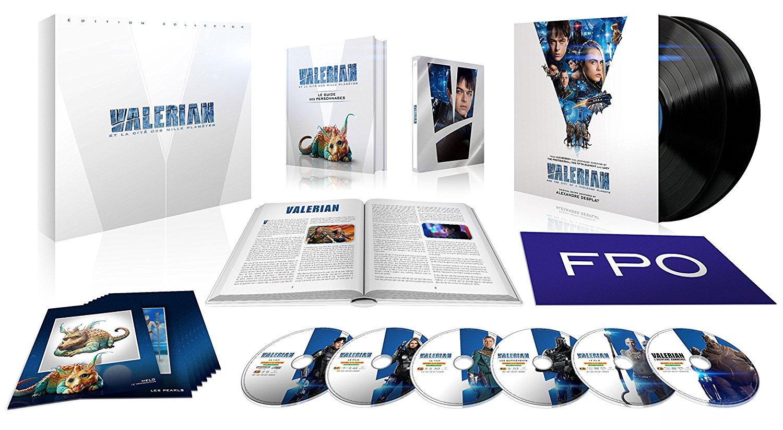 Valérian steelbook fr 3D