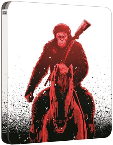 War for the planet of the Apes steelbook 1