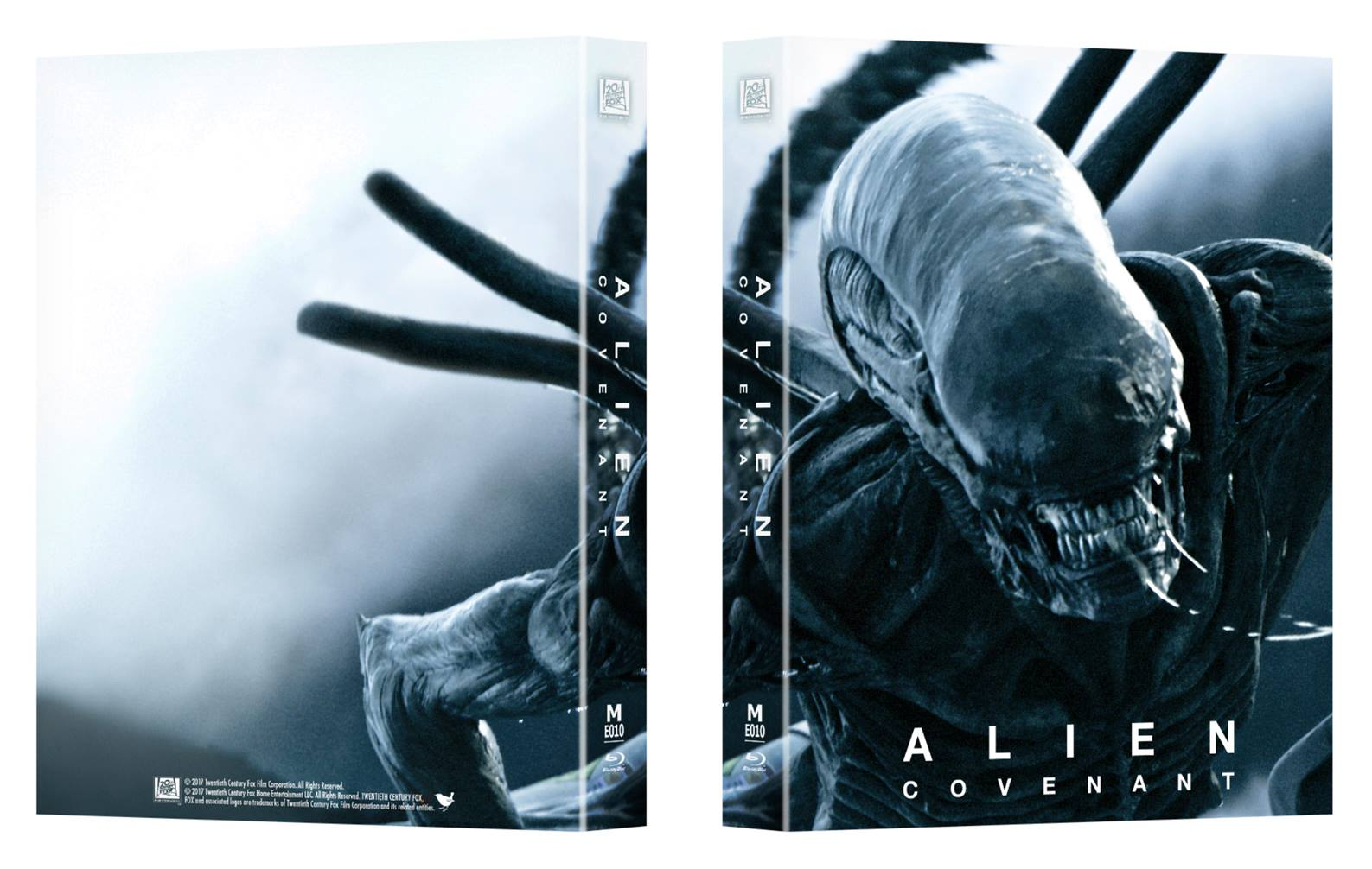 alien covenant steelbook manta lab fullslip lenti a