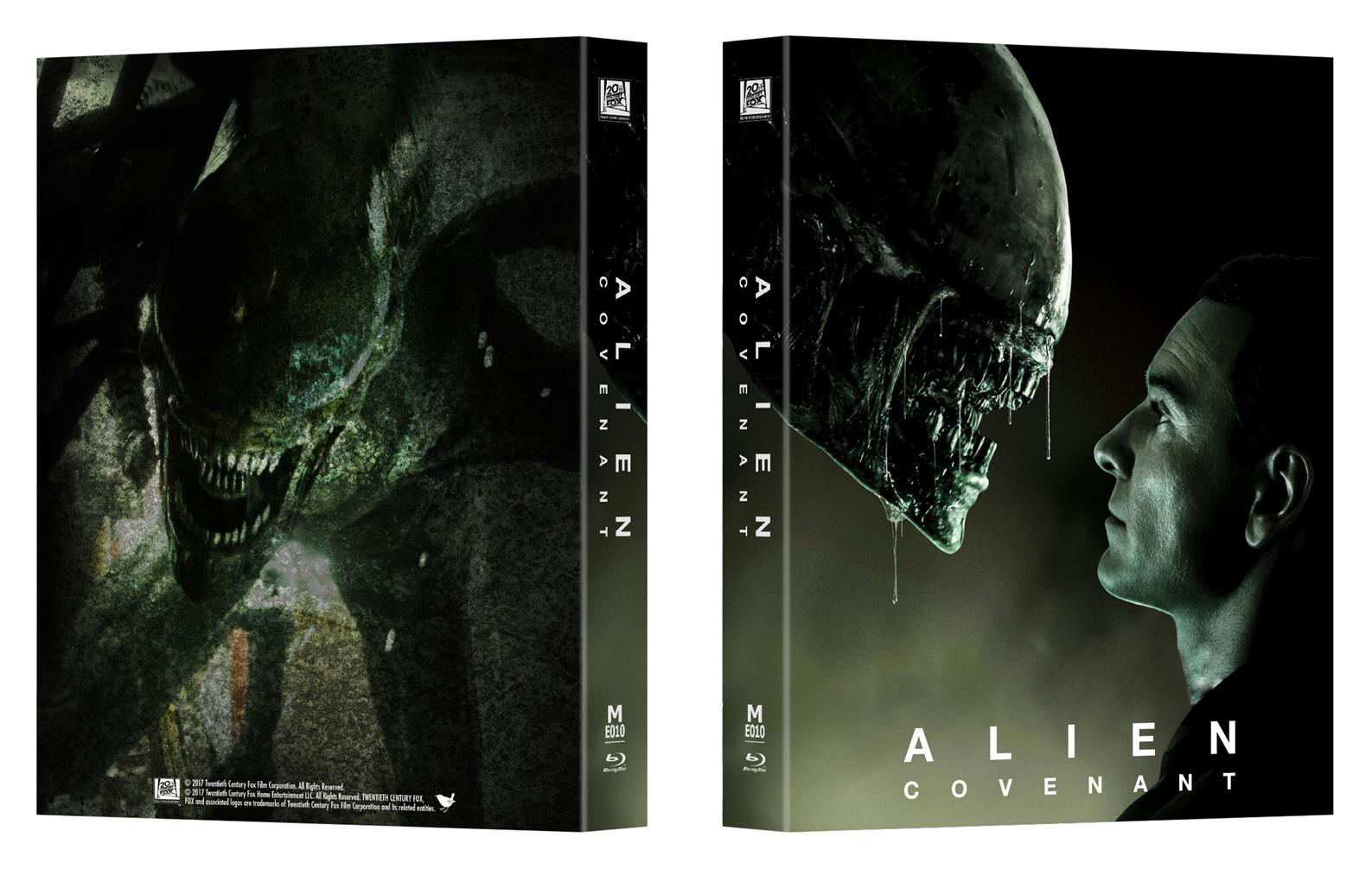alien covenant steelbook manta lab fullslip lenti b