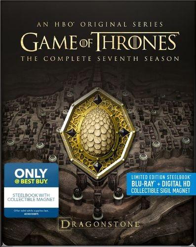 Game of Thrones season 7 steelbook white