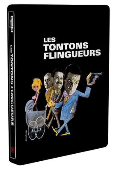 les tontons flingueurs en blu ray 4k steelbook 4kpro actualit bons plans avis blu ray 4k. Black Bedroom Furniture Sets. Home Design Ideas