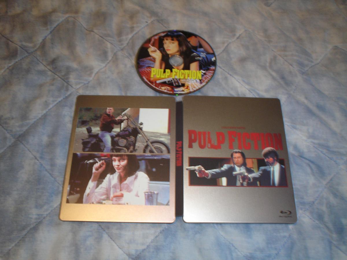 Pulp Fiction steelbook CA 1