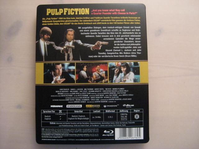 Pulp Fiction steelbook DE 2