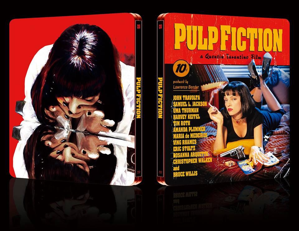 Pulp Fiction steelbook Novamedia 1