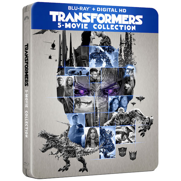 Transformers 5 Movies Collection steelbook