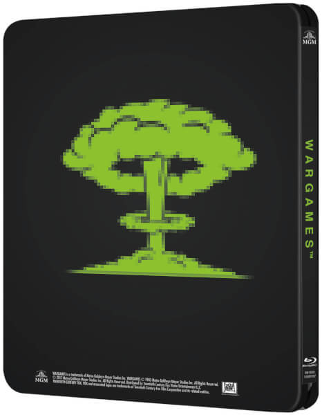War Games steelbook zavvi 2